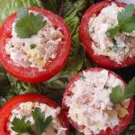 Кошнички от червени домати