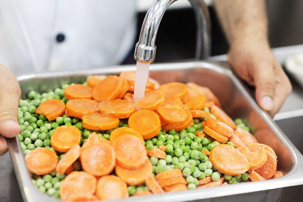 Миене на зеленчуци
