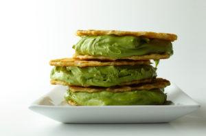зелен сандвич