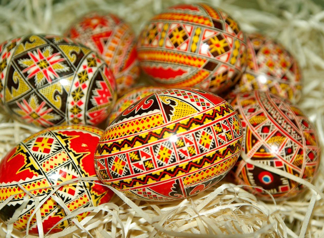 Красотата на яйцата –  варене, боядисване и украсяване