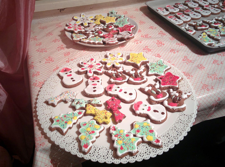 Страхотни Коледни бисквити с глазура!